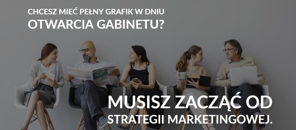 strategia marketingowa dla gabinetu