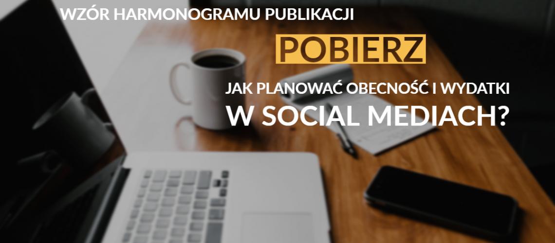 harmonogram publikacji w social media